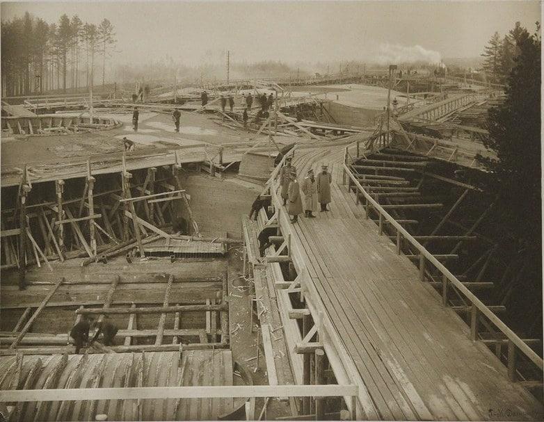 Строительство Форта Красная Горка Алексеевский форт