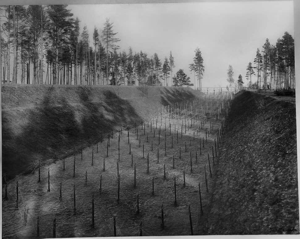 Укрепления на форте Красная горка. Фото 2014 г.
