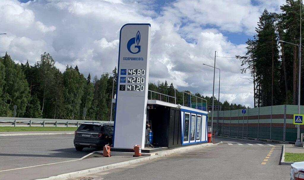 АЗС Газпромнефть на трассе М11
