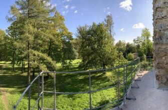 Орловский парк Стрельна Санкт-Петербург