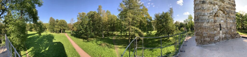 Виды Орловского парка в Стрельне, Санкт-Петербург