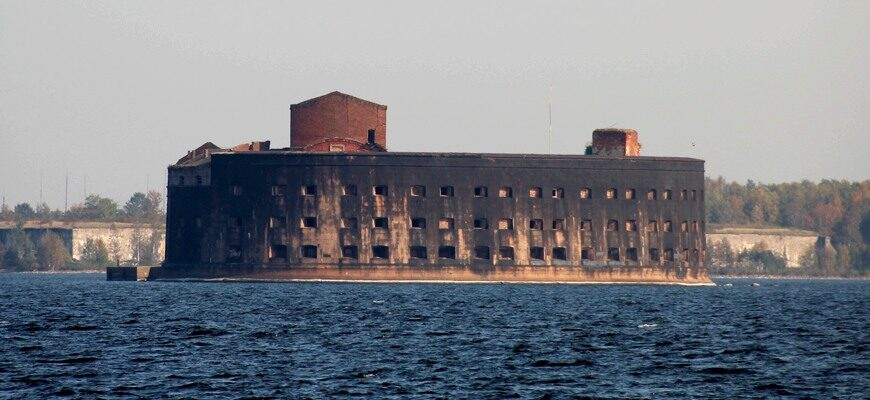 Реставрация фортов Кронштадта