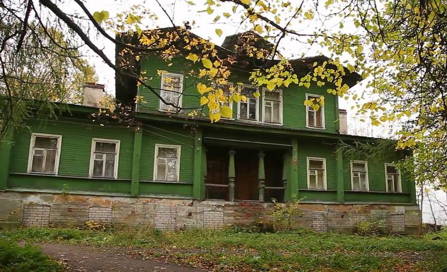 Инвалидные дома на Дудергофских высотах