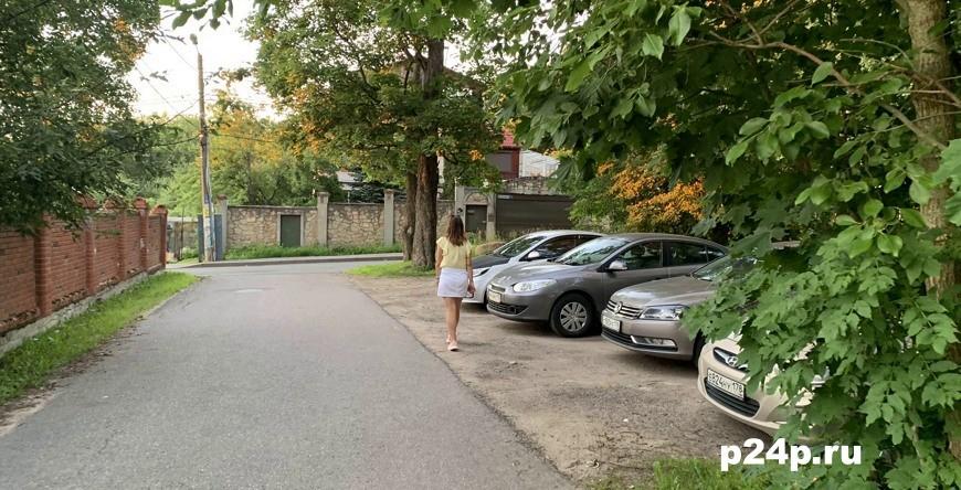 Парковка на Дудергофских высотах