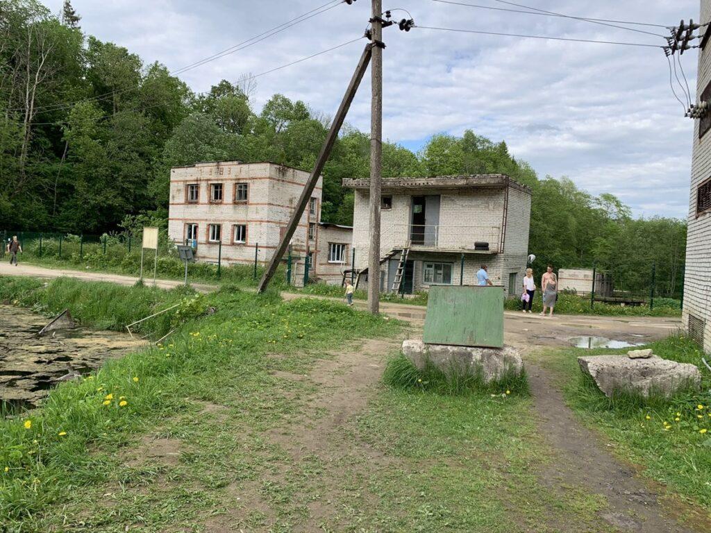 Форелевое хозяйство в Лопухинке