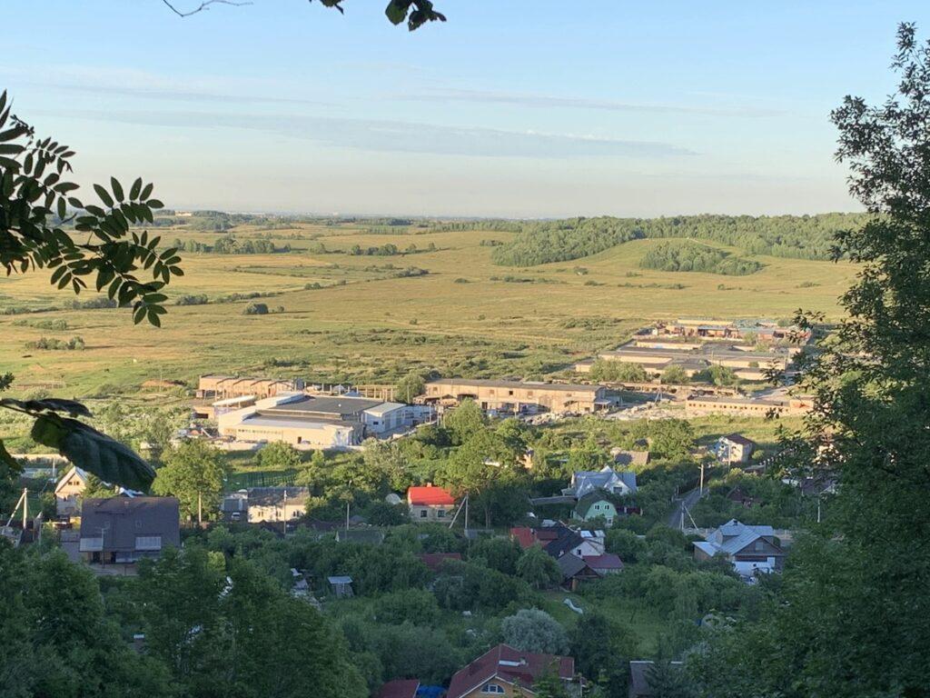 Смотровая площадка 2 на Ореховой горе Дудерофские высоты