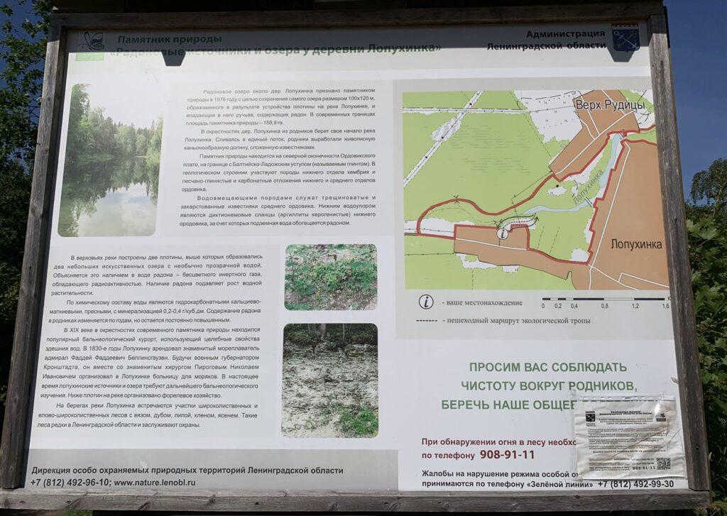 Радоновые озера в Лопухинке геология и происхождение родников