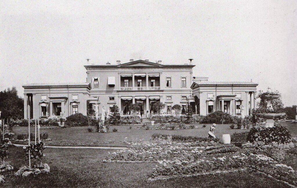 Дворец герцога Лейхтенбергского 1864 год старое фото