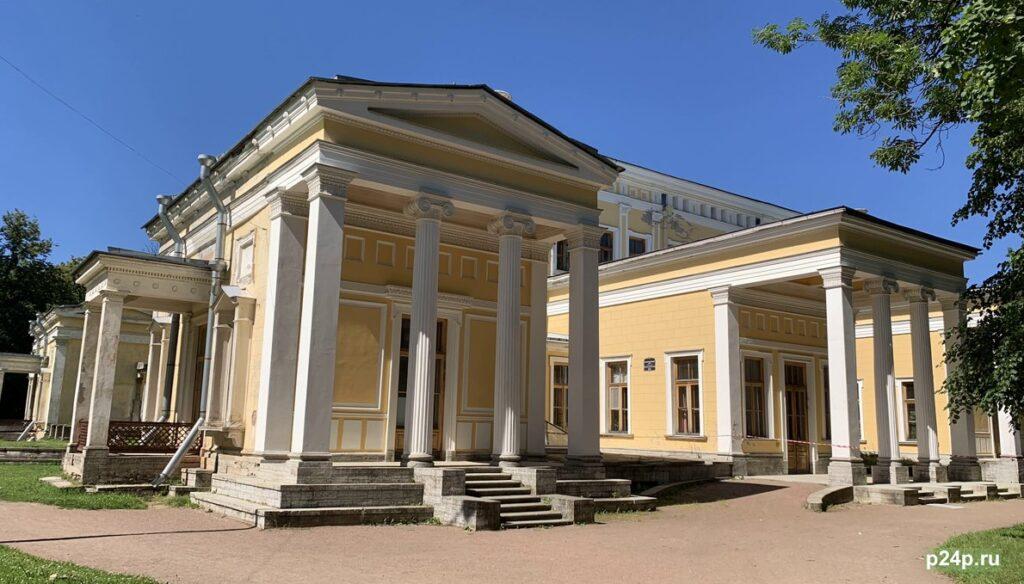 Дворец Лейхтенбергских в Сергиевке