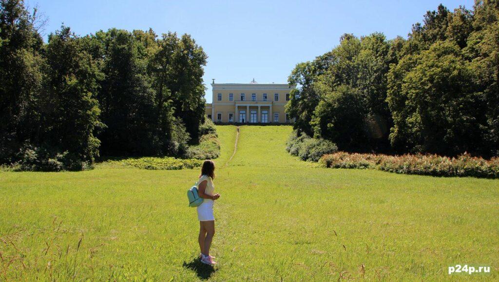 Дворец усадьба Лейхтенбергских в Сергиевке