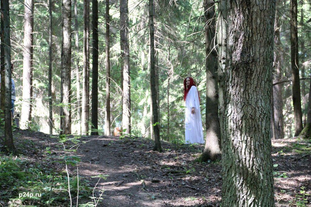 Лесная фея в парке Сергиевка