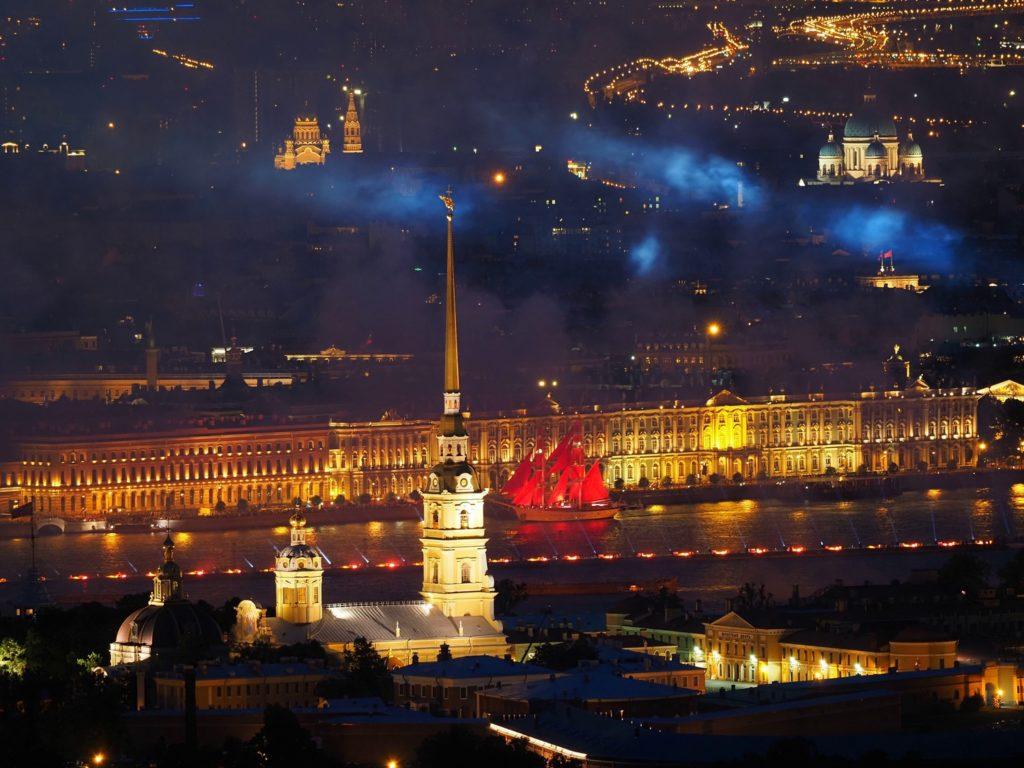 дата проведения Алых парусов в Санкт-Петербурге 2021