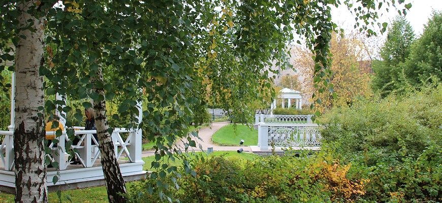 Польский сад и усадьба Державина в Санкт-Петербурге