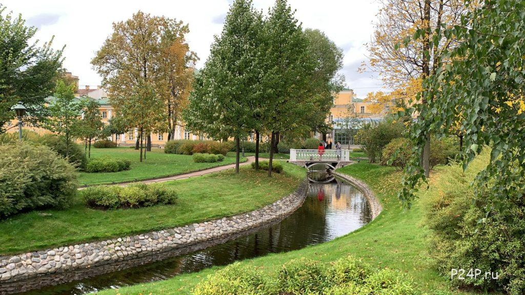 Пруды и каналы в Польском саду