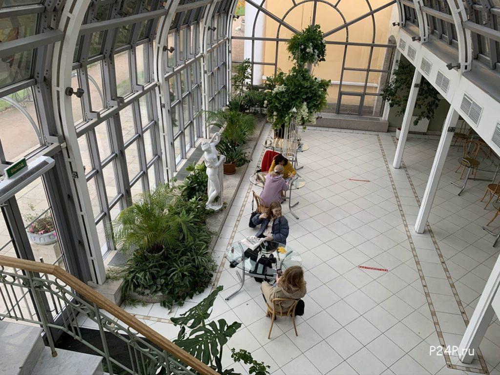 Кафе Оранжерея Польский сад