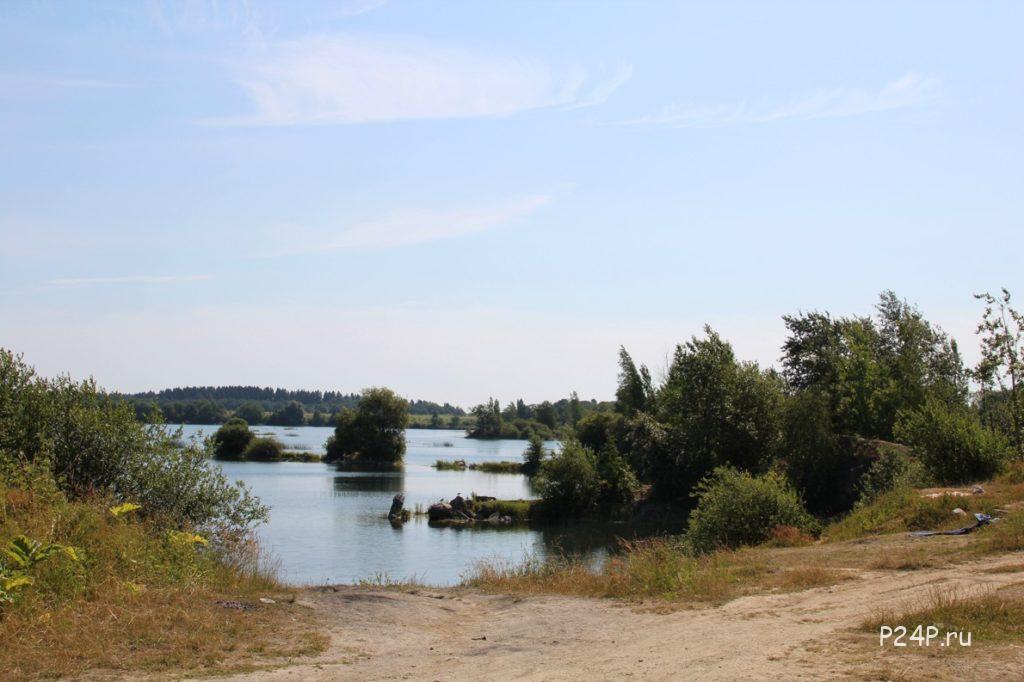 Борницкий карьер можно купаться у села Новое Хинколово