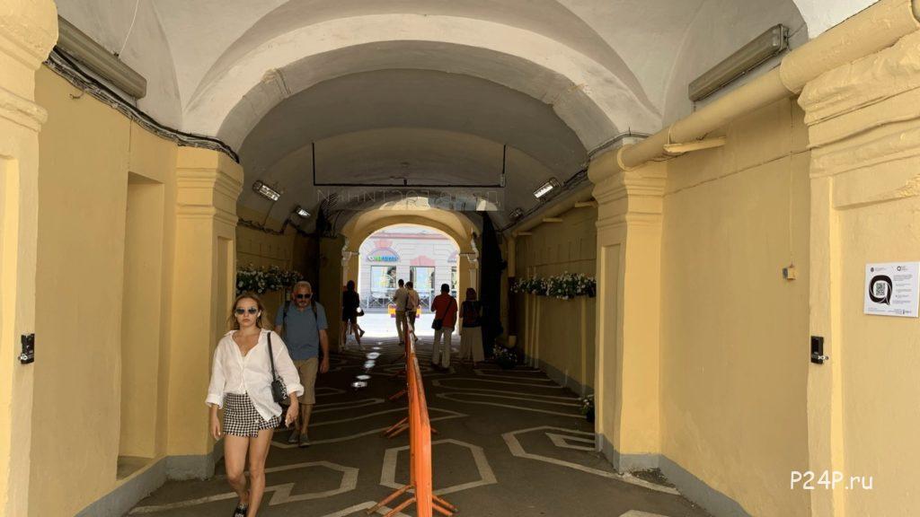 Общественное пространство Двор Гостинки