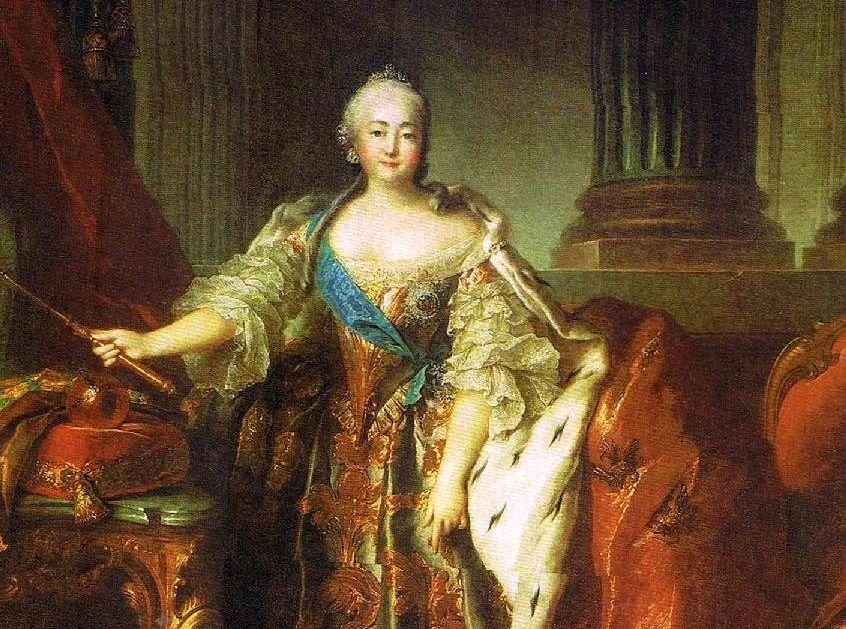Елизавета Петровна, императрица начала строить Зимний дворец