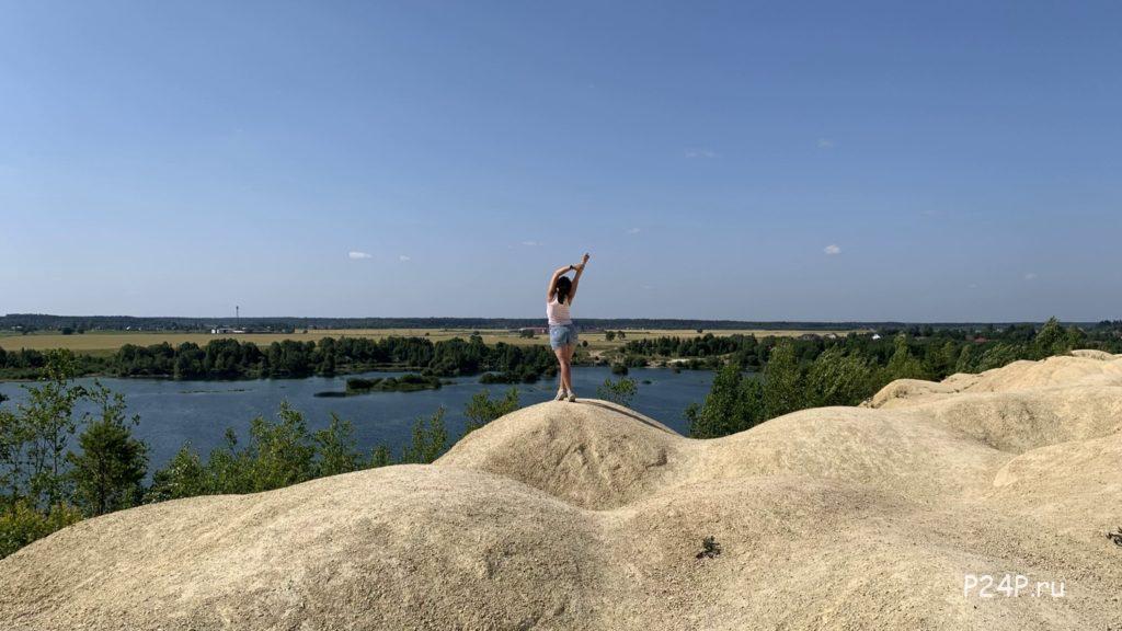 Борницкий карьер Ленинградская область