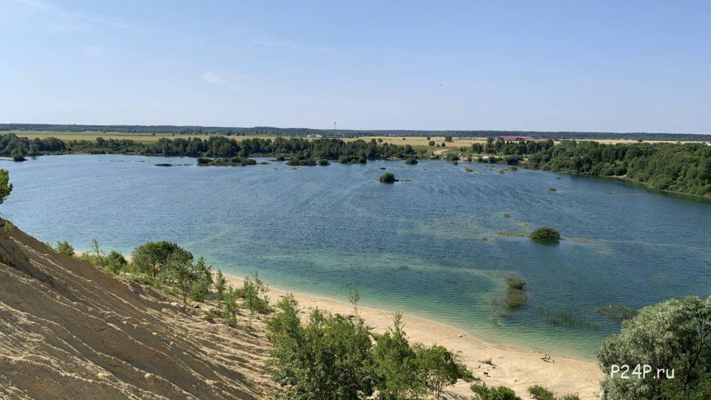 Борницкий карьер озеро для купания