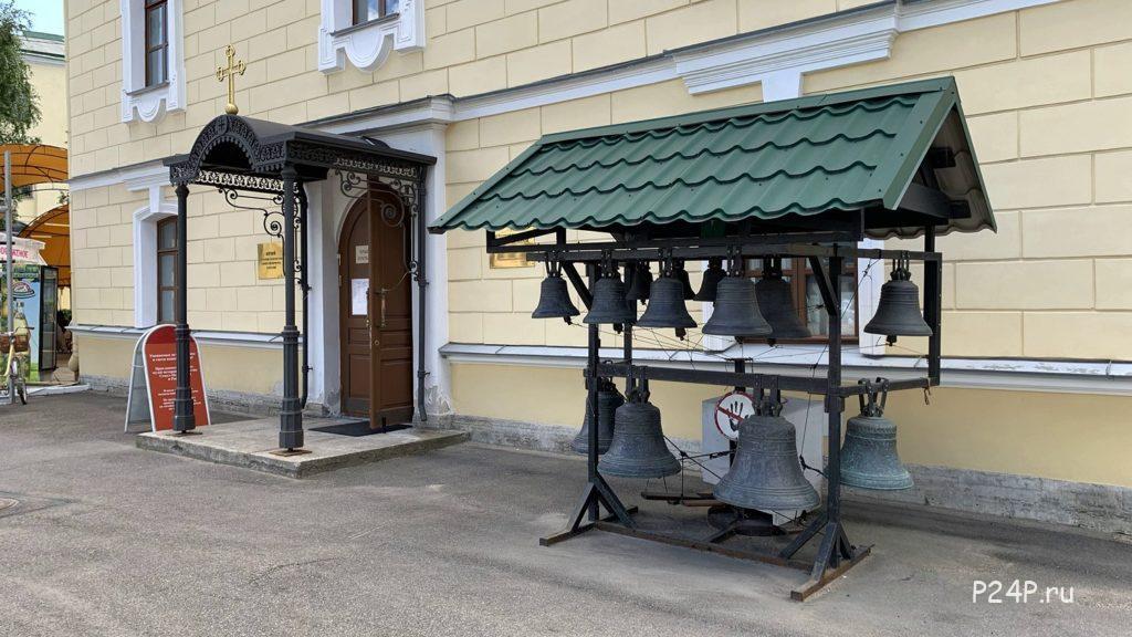 Храм Серафима Вырицкого во Дворе Гостинки