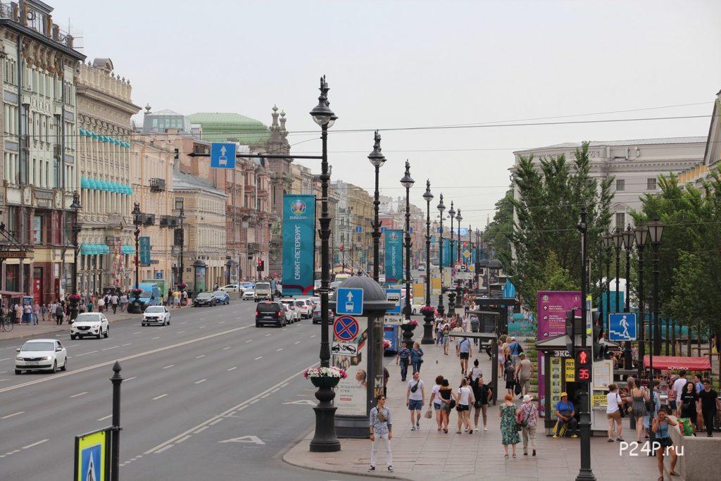 Невский проспект Гостиный двор