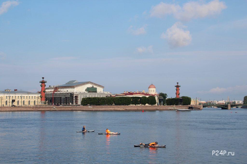 САП серфинг по Питерски. Как и где кататься на САП бордах в Санкт-Петербурге
