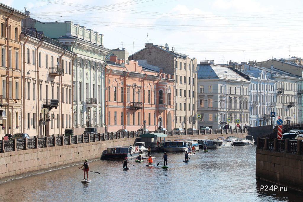 Покататься на САПах в СПб