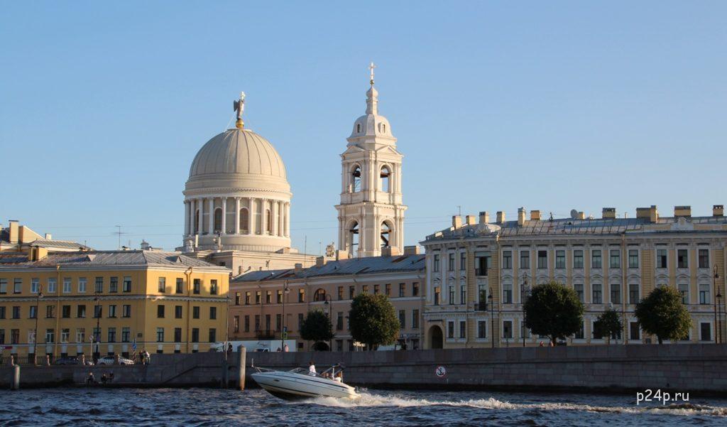 Ангелы Петербурга Церковь святой Екатерина на Васильевском острове