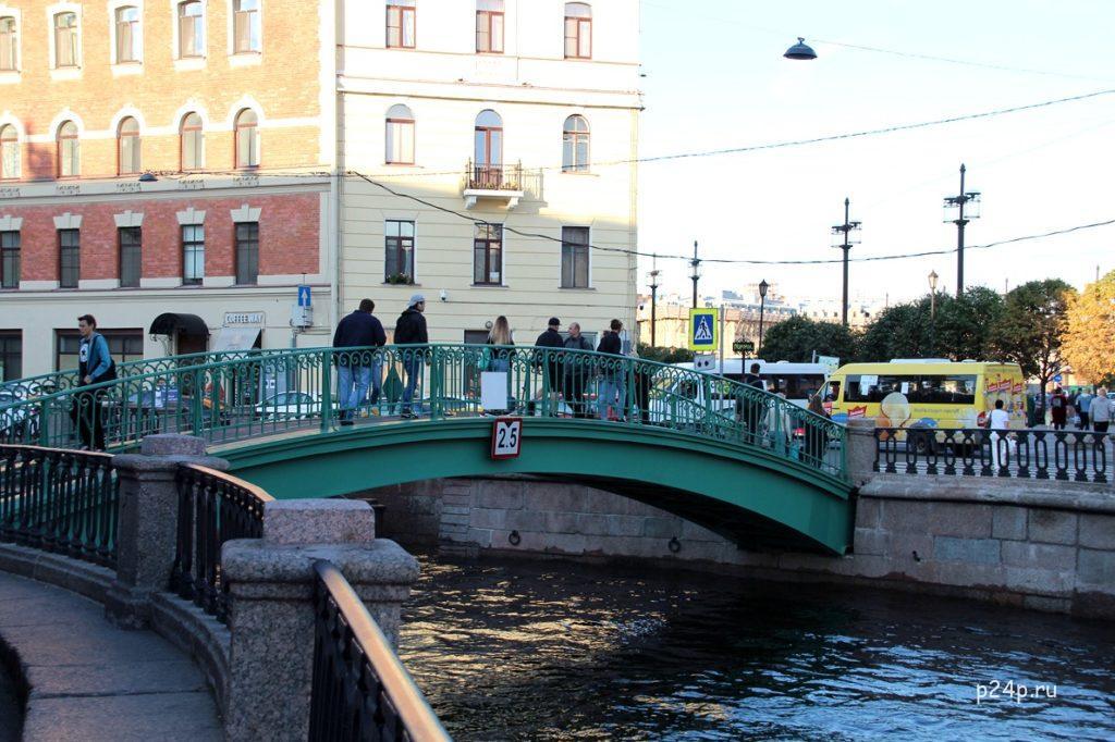 Сенной мост по местам Достоевского