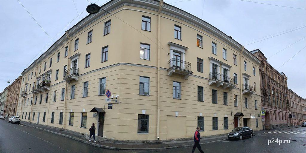 Дом Сони Мармеладовой на канале Грибоедова 73