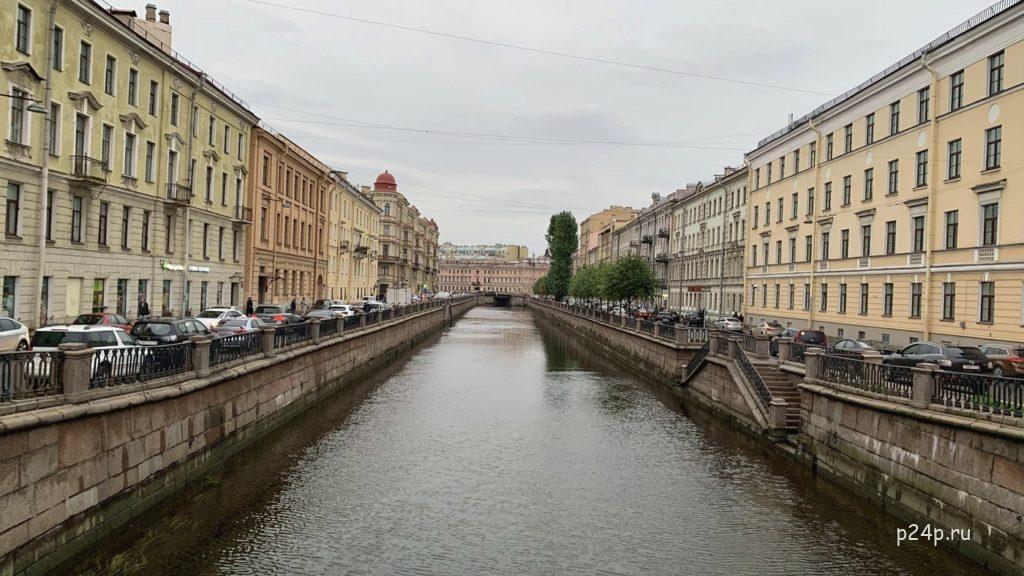 Вознесенский мост, где стоял Раскольников после преступления