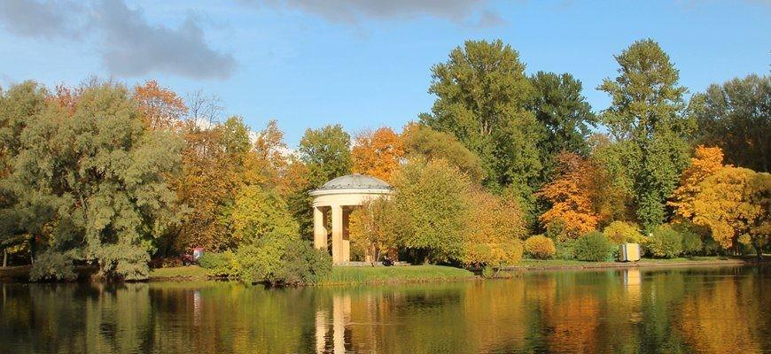 Сады и парки Санкт-Петербурга для осенней фотосессии